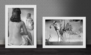 Painting Frames Free PSD by victorsosea