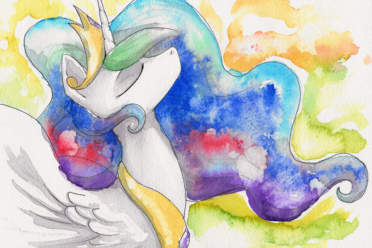 Celestia Watercolour by Asssha