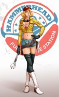 FFXV - Cindy Aurum by Final-Fanart