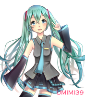 [AT] Miku by umi-mi