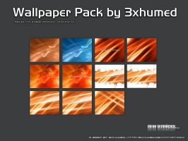 Wallpaper Pack Fire by 3xhumed