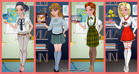 Show and Tell Dress Up Game by DressUpGamescom