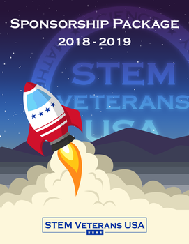 STEM Veterans USA Sponsorship Package Cover Page by AwesomeAartvark