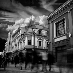 Downtown Plovdiv by ghostrider-in-ze-sky