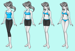 Wii Fit Trainer-  Wreck-It Ralph RP Fantasy outfit by Dinalfos5