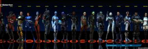 Mass Effect Squad Selection COMPLETE by ShaunsArtHouse
