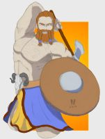 Barbarian 02 Mouse Colors by TheGreenCount