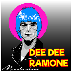 Dee Dee Ramone by indesition
