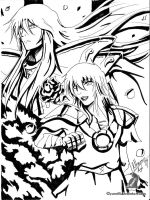 BW Magus and afrodite by yami11
