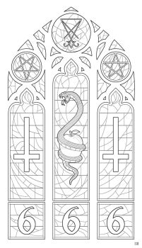 Church of the Satanatrix Stained Glass Inks