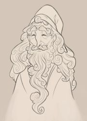 Albus Dumbledore by MowenDesigns