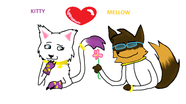 Kitty And Mellow (contest entry) by invadermiz1