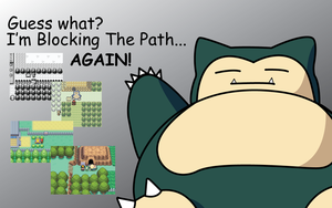 Snorlax is back