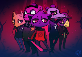 Night in the Woods fanart by Affanita