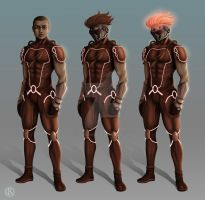 Character design of Ray Jackson by CristianoReina