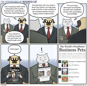 The Adventures of Business Cat - Revelations by tomfonder