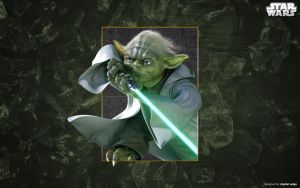 Yoda by sithstemple