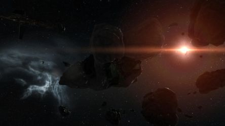 EVE Online Screenshot- The Rats in a Belt by Gilligan2011