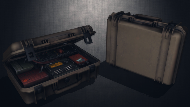 [MMD] C4+Semtex Explosive Charge Case for DL by AbyssLeo