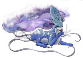Suicune by tasiallama