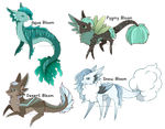 Fruit Bloom Subspecies Adopts: CLOSED by GazeCreative