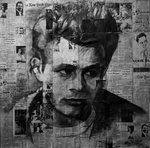 The rebel James Dean by Futurum-Undam