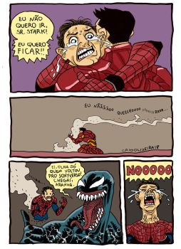 I dont wanna go, Mr. Stark by caiooliveira