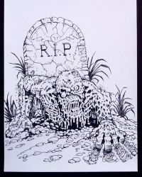 GRAVE SITUATION INKS 2016 by CWmaxWorld