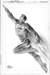 Superman, Commission for NYCC by eddybarrows