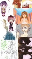 Unfinished drawings - compilation by Leonekochan99