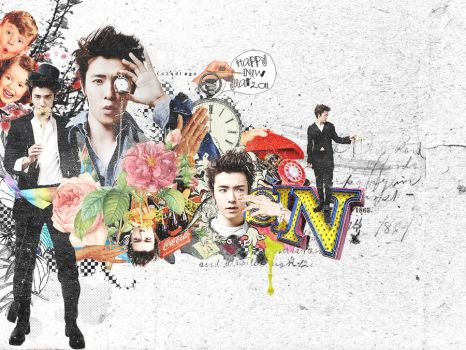 Donghae Happy New Year 2011 by qdlego