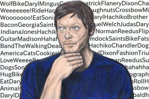 Norman Reedus thinking time... by gagambo