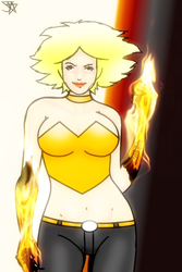 Olivia Lucifuges hot glow-UNLOCKED by Jesse-the-art-maker
