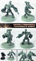 Imperial Cataphract Robot UP by Proiteus