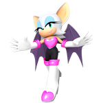 Rouge the Bat in Style by JaysonJeanChannel