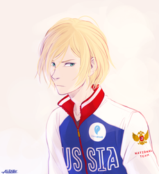 Yurio Plisetsky by Alexgv-art