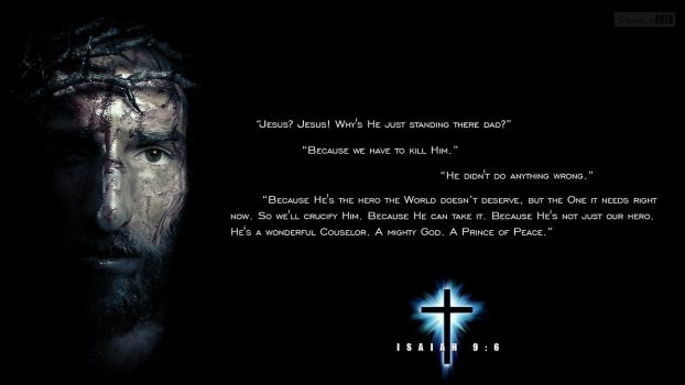 Isaiah 9:6 - The Dark Knight Edition by SympleArts