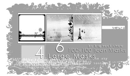 100x100 Icon + Large Masks by big-rock-show