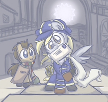 Tegami Derpy - Ask box open!! by MeloDenesa