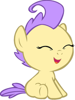 Cream Puff Laughing by 3D4D