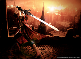 Devil May Cry 4 Dante by ceriselightning