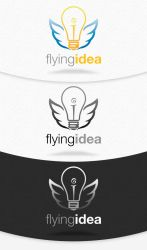 Flying Idea Logo Template by squizmo