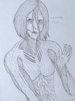 Female titan by Redspets