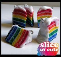 Rainbow Cakes by thejes