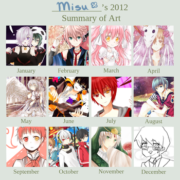 2012 Year of Art by Muika-Miru