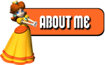 Twitch Buttons - Princess Daisy by TwitchOzotuh