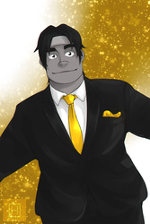 Suit Hunk by Narikoh