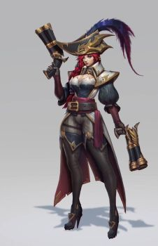 Captain Fortune by Zeronis