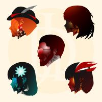 Torchwick and Co. x UDD: Capacities by hjpenndragon