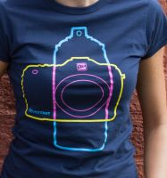 SprayCam T-Shirt by deviantWEAR